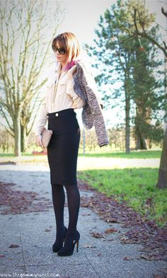 Ladylike Style with total look Pinko and Aniye by necklace…