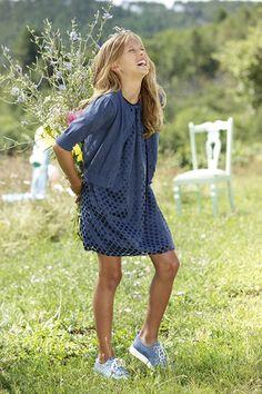 Lookbook For Stars, Casual Chic, Summer Dresses, Fashion, Blue, Fashion Styles, Casual Dressy, Moda, Summer Sundresses