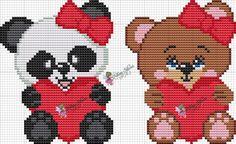 Lidiane Silveira Ponto Cruz Animal Crackers, Buzz Lightyear, Cross Stitching, Embroidery Stitches, Panda, Diy And Crafts, Teddy Bear, Blanket, Disney