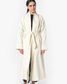 Long Coat in Cream