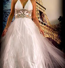White Sparkle Ballgown. Find your perfect prom gown at Fancy Schmancy! 641 Loudon Rd., Latham, NY.  #ballgown #dress #holiday #highschool  #prom #prom2015 #fancyschmancy #upstateNY #latham #gorgeous #wedding #sparkle  #sexy #gold #white