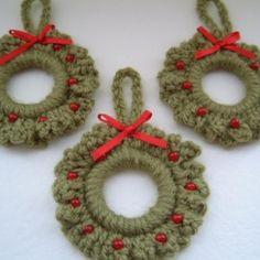 free christmas ornament crochet pattern