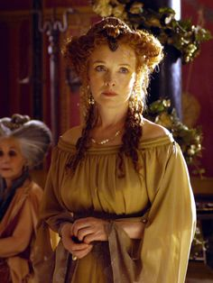 Lindsay Duncan as Servilia of the Junii in Rome