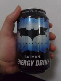 Energy Drink cool enough for Batman. Batman Love, Batman Stuff, Im Batman, Best Superhero, Superhero Party, Nerd Stuff, Fun Stuff, All Batmans, Caffeine Addiction