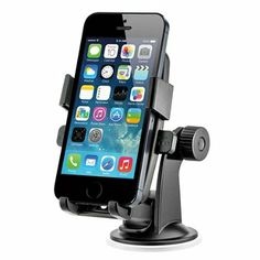 iOttie HLCRIO102 One Touch Windshield Dashboard Universal Car Mount Holder for iPhone 4S/5/5S/5C, Galaxy S4/S3/S2, HTC One DROID RAZR HD - Retail Packaging - Black: Cell Phones & Accessories