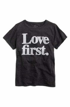 J.Crew Love First Tee