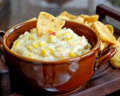 Hot Corn Dip, one of 12 Best Recipes of 2013 from A Veggie Venture