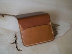 Minimalist Wallet Leather Wallet Everyday Carry Leather