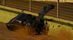 Youtube channelCandylandhas just uploaded a new Project CARS video (above) in which he/she purposes drives into other cars and barriers in order to wreck the car to show off the damage model in action. Viewing the footage I think it's fair to say the damage model has some flaws including times where the car would seem to flip far too