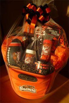 Oregon State University Football Cooler Gift Basket