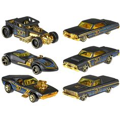 2018 Hot Wheels Car Collector's Edition 50th Anniversary Black Gold Metal Diecast Cars Toys Vehicle For Children Juguetes FRN33  Price: 57.99 & FREE Shipping #computers #shopping #electronics #home #garden #LED #mobiles #rc #security #toys #bargain #coolstuff |#headphones #bluetooth #gifts #xmas #happybirthday #fun