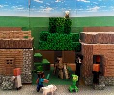 Because we definitely need a minecraft play set.