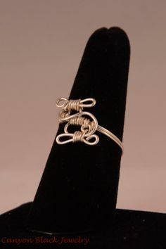 The Winding Road size 7 wire ring by CanyonBlackJewelry on Etsy