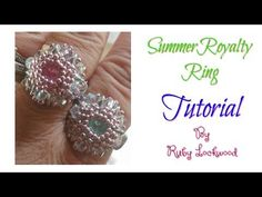 (Tutorial) Summer Royalty Earrings ( Video 195) - YouTube