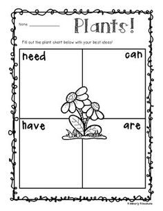 This freebie is a part of my Plant Unit.  Add it into your plant unit with your kiddos.  Enjoy!! :)Be sure to check out my Plant Unit