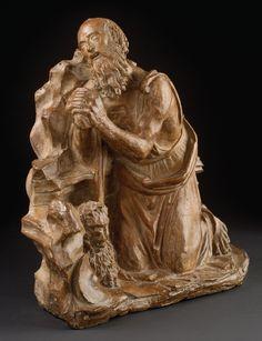 Kneeling St Jerome. Florence (workshop of Jacopo Sansovino?). 1500–10. (Ashmolean Museum, Oxford).
