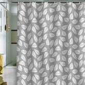 Found it at AllModern - Bianca Green Leafy Shower Curtain