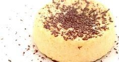 Bizcocho proteico dulce bajo en calorías. Postre proteico bajo en grasa perfecto para dietas de definición.