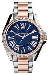Michael Kors 'Kacie' Crystal Bezel Bracelet Watch, 39mm (Nordstrom Exclusive) available at Nordstrom