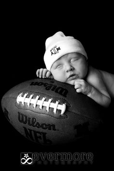 Idea for our future football star :) except with a Tech hat