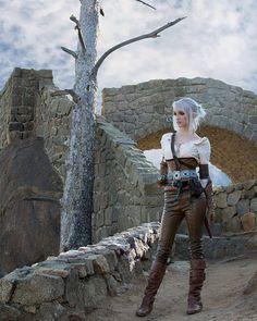 Ciri (The Witcher) cosplay