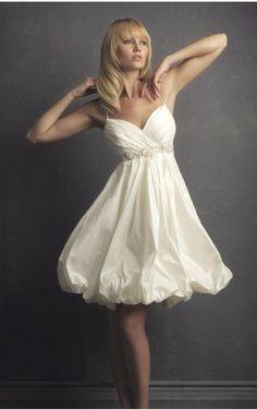 A-line Knee Length Spaghetti Strap Dress Beige Button Destination Wedding Gowns 1016 Applique