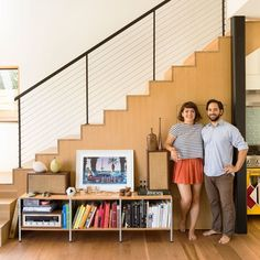 Fresh start: This couple turned a house fire into an opportunity to redesign their home.