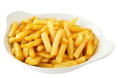 Quem não gosta de umas batatas fritas bem estaladiças? Aqui fica a dica para umas batatas sempre crocantes...   #Batatas_fritas_estaladiças