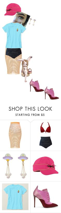 """""""Untitled #5134"""" by prettyroses ❤ liked on Polyvore featuring Stormy Kromer and Jimmy Choo"""