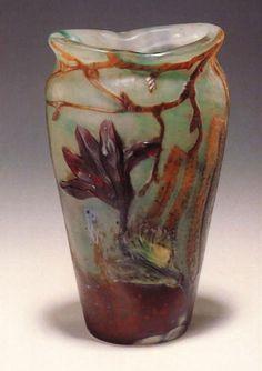 Magnolia Vase by Émile Gallé