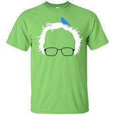 Bernie Bird President 2016 Sanders Peace Bern Birdie -T-shirt, ladies tshirt