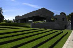 Landscape-Concrete House II by A-cero