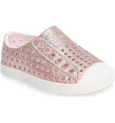 1076fbb7de1 Main Image - Native Shoes 'Jefferson - Bling' Slip-On Sneaker (Baby,  Walker, Toddler & Little Kid)