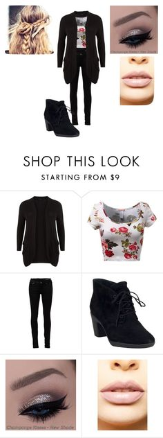 """""""A little cute outfit I would wear to my school"""" by country-girl-247 on Polyvore featuring Yves Saint Laurent, Clarks, LASplash, women's clothing, women's fashion, women, female, woman, misses and juniors"""