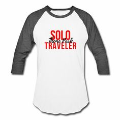 Solo Theme Park Traveler Red Text. Be prepared for your next travel adventure!  Have your best theme park outfit. #travel #packinglist #disneyworld #universalorlando #disneyplanning #themepark #amusementpark #solotravel