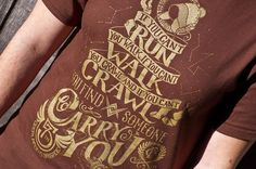 Firefly Inspired Serenity TShirt  Hand by UnicornEmpirePrints, $18.00  or this quote on anything!