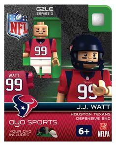 #99 J.J. Watt Houston Texans Defensive End-Limited Edition OYO minifigure