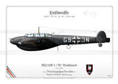 BF110D-1 / R1 'Dacklebauch' IK-61