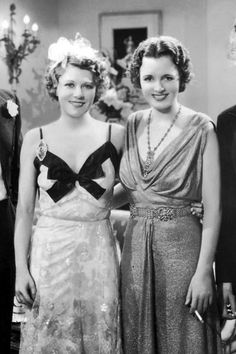 Ruth Chatterton-Mary Astor