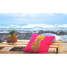Cushions / lifestyle products / beach / summer / boho / homewares / interior home decor / pinapple / beach life / beach shack / Made in Bali / ethical / social responsibility / Ubud / dip dye / Tevita Clothing and Lifestyle