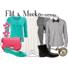 Flit & Meeko, created by lalakay on Polyvore #disney  Have the dress, need the color.