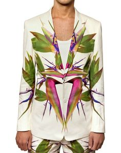 Givenchy. Birds of Paradise. Jacket. Classy with a twist