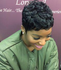 Black Hair Loriane J The Hair. The Person. The Experience The LJ Slay Effect 👄 Loriane J O cabelo . A pessoa . A experiência O efeito LJ Slay 👄 Black Women Short Hairstyles, Cute Hairstyles For Short Hair, Girl Hairstyles, Relaxed Hairstyles, Beautiful Hairstyles, Summer Hairstyles, Trendy Hairstyles, Short Sassy Hair, Short Pixie