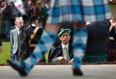Highland dance judge.