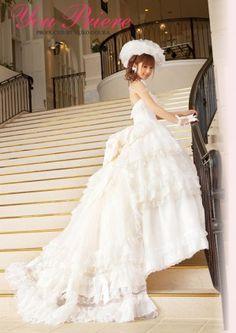 Phong cách váy cưới Nhật 2010 ...