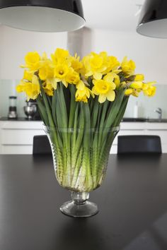Påskeliljer gir god påskestemning i huset