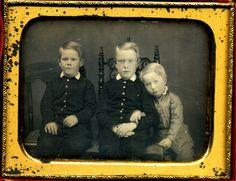 Great Body Language Between These Boys in Horizontal Daguerreotype Dag   eBay