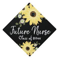 Graduation Cap Toppers, Graduation Cap Designs, Graduation Cap Decoration, Graduation Diy, Nursing Graduation, High School Graduation, Grad Cap, Custom Graduation Caps, Cap Decorations