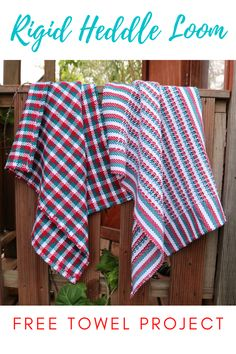 Free project for rigid heddle weavers. Includes printable PDF and full video lesson. Hand Towels, Loom, Weaving, Pdf, Printable, Etsy Shop, Projects, Free, Log Projects