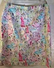 Jade Melody Tam Parisian Women Parasol Skirt 10 Beaded Embelished Bling Lined